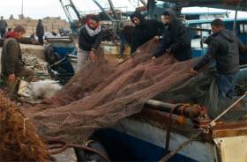 الصيد في غزة