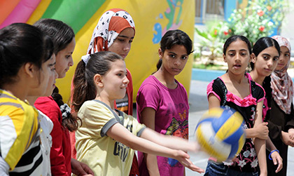 summer-fun-weeks-2013-for-refugee-children-in-gaza-begin2