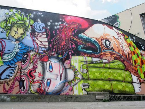 Photo of الجرافيتي .. خربشة أَم قِيمٌ جماليةٌ،ورسالةٌ وقضيةٌ