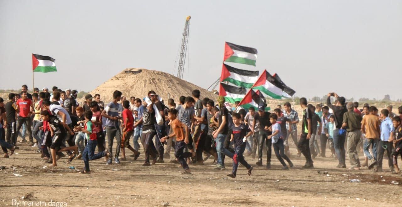 Photo of بالصور: الحمعة 67 لمسيرات العودة