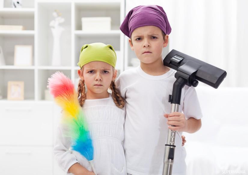 Photo of الأطفال وتنظيم البيت والألعاب