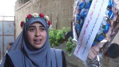 """Photo of الطالبة الأولى على """"العلم الشرعي"""" ضحى حبيب : تدرس على ضو اللدات و تشارك في مسيرات العودة"""